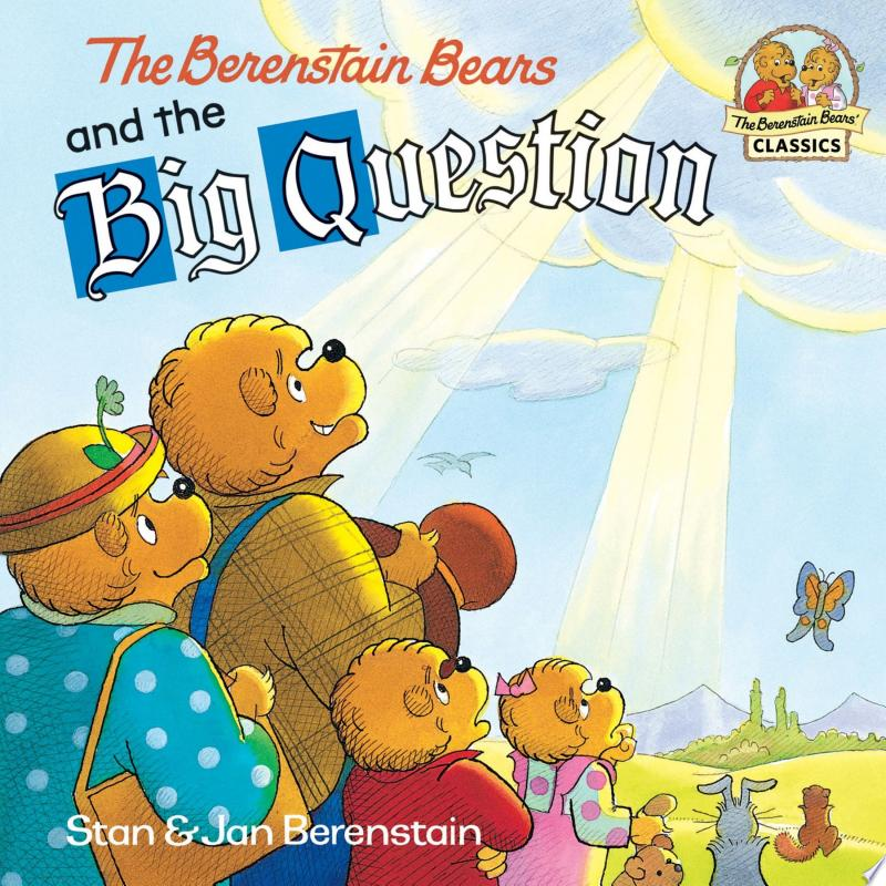 The Berenstain Bears and the Big Question banner backdrop