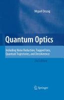 Quantum Optics [Pdf/ePub] eBook
