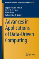 Advances in Applications of Data Driven Computing