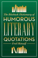 Pdf The Biteback Dictionary of Humorous Literary Quotations Telecharger