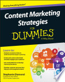 Content Marketing Strategies For Dummies Book