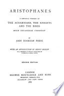 A Metrical Version of The Acharnians  The Knights and The Birds