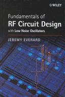 Fundamentals of RF Circuit Design Book