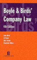 Boyle   Birds  Company Law