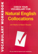 Check Your Vocabulary for Natural Collocations