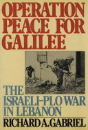 Operation Peace for Galilee [Pdf/ePub] eBook