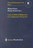 Cases On Medical Malpractice In A Comparative Perspective