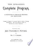 The Speaker s Complete Program