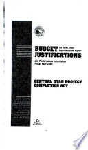 Energy and Water Development Appropriations for 2005 Book