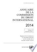 Annuaire de la Commission du Droit International 2014  Vol  II  Partie 2