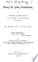 Henry St  John  Gentleman