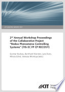 2nd Annual Workshop Proceedings Of The Collaborative Project Redox Phenomena Controlling Systems