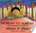 Monday to sunday
