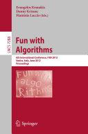 Pdf Fun with Algorithms