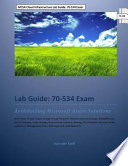 Mcsa Cloud Infrastructure Lab Guide 70-534 Exam