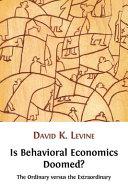 Is Behavioral Economics Doomed? Pdf/ePub eBook