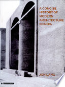 A Concise History of Modern Architecture in India