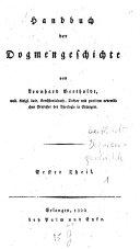 Handbuch der Dogmengeschichte
