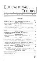 Educational Theory