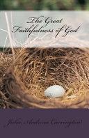 The Great Faithfulness of God