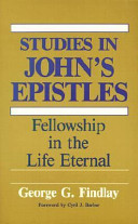 Studies in John's Epistles
