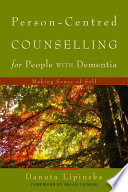 Person Centred Counselling For People With Dementia