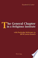 The General Chapter in a Religious Institute