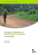 Politiques d'adaptation et d'atténuation au Cameroun ebook