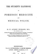 The Student S Handbook Of Forensic Medicine And Medical Police