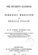 The Student's Handbook of Forensic Medicine and Medical Police