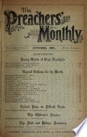 The Preacher S Monthly Vol 2 7 Editor S Ser Vol 1 No 1 6