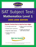 SAT Subject Tests Book