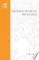 Thermochemical Processes Book PDF