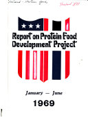 Report on Protein Food Development Project