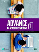 Advance in Academic Writing 1   Student Book with EText and My ELab  12 Months