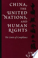 China  the United Nations  and Human Rights