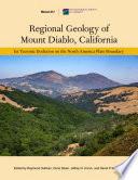 Regional Geology of Mount Diablo  California