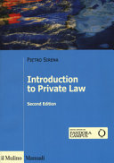 Introduction to Private Law