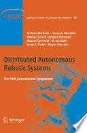 Distributed Autonomous Robotic Systems Book