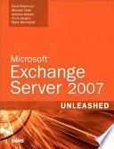 Microsoft Exchange Server 2007 Unleashed