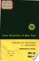 Undergraduate Bulletin ...