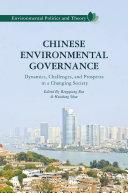 Chinese Environmental Governance Pdf/ePub eBook