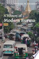 A History Of Modern Burma
