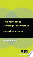 IT Governance to Drive High Performance