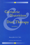 Geriatric Nutrition   Diet Therapy Book