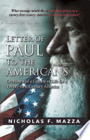 Letter of Paul to the Americans