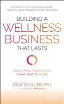 Building a Wellness Business That Lasts Pdf/ePub eBook