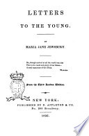 Letters to the Young by Maria Jane Jewsbury