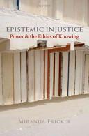Cover of Epistemic Injustice