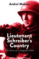 Lieutenant Schreiber's Country